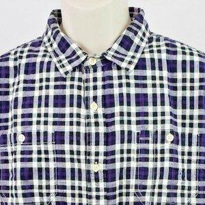 Just a Cheap Shirt Mens XXL 2XL Long Sleeve Plaid